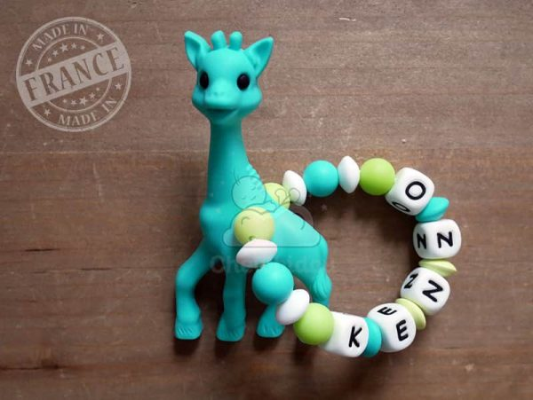 anneau de dentition silicone girafe kenzo