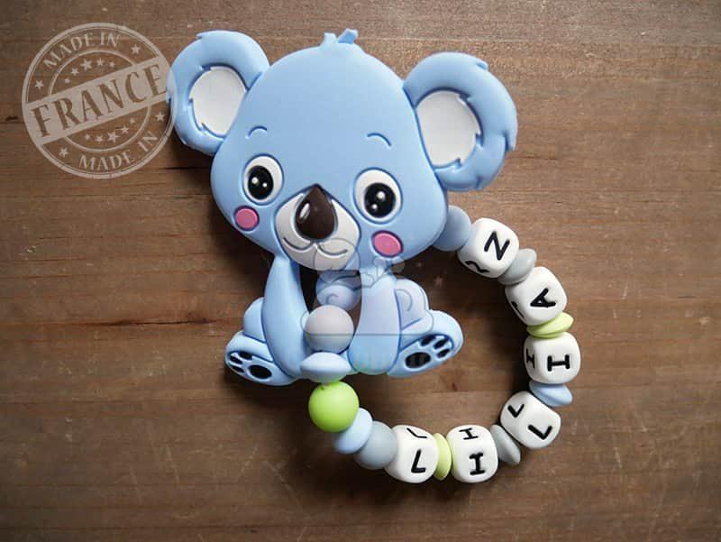 anneau de dentition silicone koala lilian