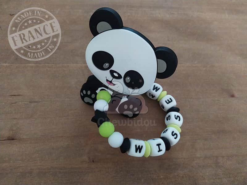 anneau de dentition silicone panda wissem