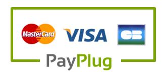 paiement sécurisé attache tétine personnalisée carte bleue