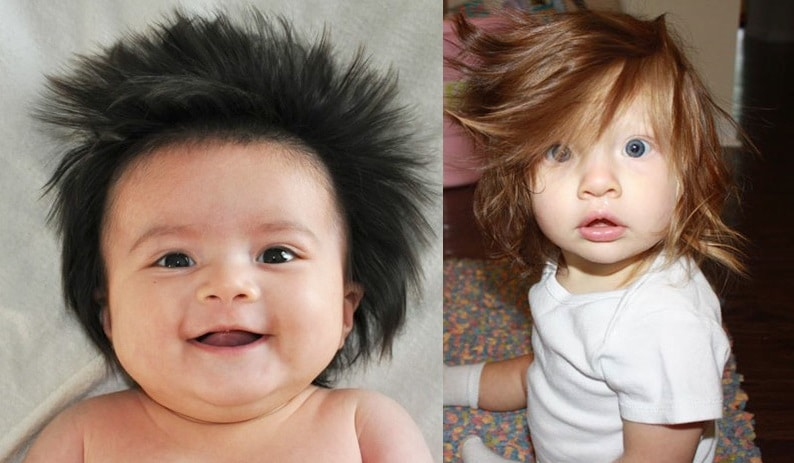 tout savoir sur les bébés : il perd ses cheveux de bébé
