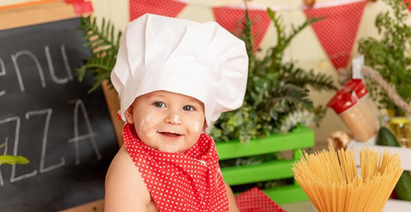 Début de la diversification pour bébé