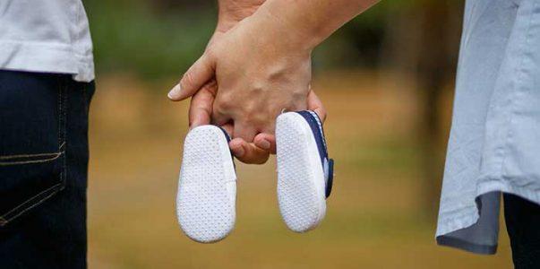 Quand acheter les premières chaussures de bébé ?